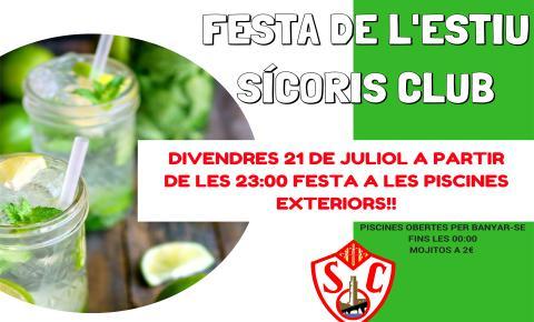 Festa Estiu Sícoris Club