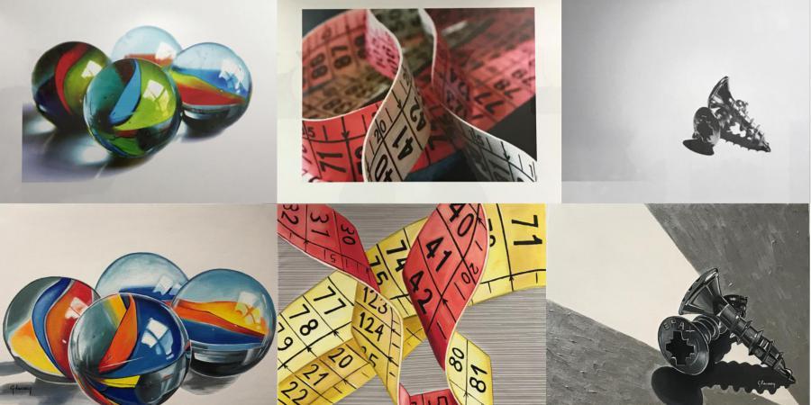 El Racó d'Art acull l'exposició de Jaume Zamorano i Gemma Farreny